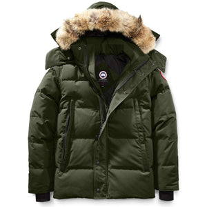 Men's Wyndham Parka-Canada Goose-Military Green-L-Uncle Dan's, Rock/Creek, and Gearhead Outfitters