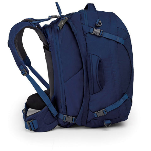Ozone Duplex 60 Travel Pack-Osprey-Buoyant Blue-Uncle Dan's, Rock/Creek, and Gearhead Outfitters