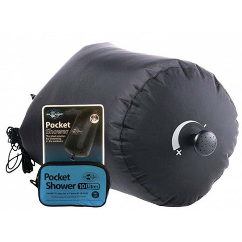 Pocket Shower-Sea to Summit-Uncle Dan's, Rock/Creek, and Gearhead Outfitters