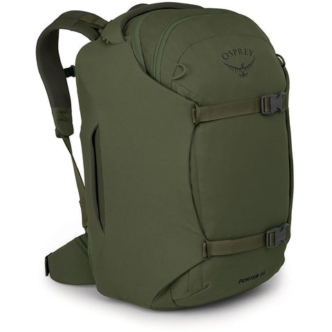 Porter Travel Pack 46-Osprey-Haybale Green-Uncle Dan's, Rock/Creek, and Gearhead Outfitters