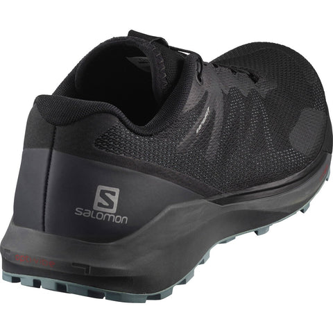 Men's Sense Ride 3-Salomon-Black/Ebony/Lead-10-Uncle Dan's, Rock/Creek, and Gearhead Outfitters