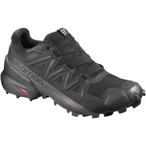 Men's Speedcross 5 GTX-Salomon-Black/Black/Phantom-10-Uncle Dan's, Rock/Creek, and Gearhead Outfitters