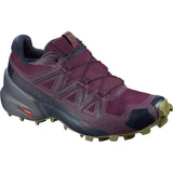 Women's Speedcross 5 Trail Running Shoe-Salomon-Potent Purple/Ebony/Burnt Olive-6-Uncle Dan's, Rock/Creek, and Gearhead Outfitters