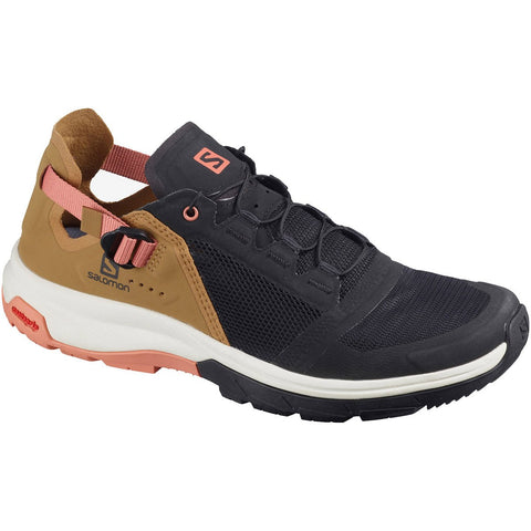 Women's Tech Amphib 4-Salomon-Black/Bistre/Tawny Orange-6-Uncle Dan's, Rock/Creek, and Gearhead Outfitters