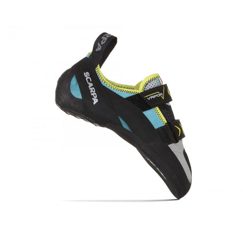Women's Vapor V Climbing Shoe-Scarpa-Turquoise-36-Uncle Dan's, Rock/Creek, and Gearhead Outfitters