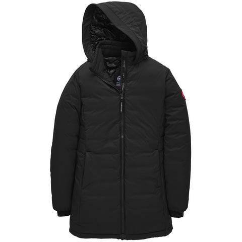 Women's Camp Hooded Jacket Matte Finish-Canada Goose-Black-L-Uncle Dan's, Rock/Creek, and Gearhead Outfitters