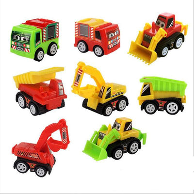 Mini Crane Trucks Kids Toys
