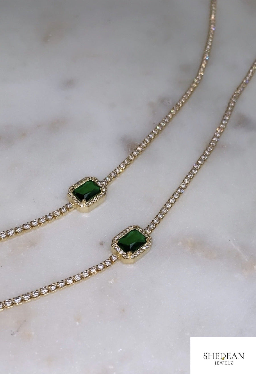 Gem Choker - Shedean Jewelz