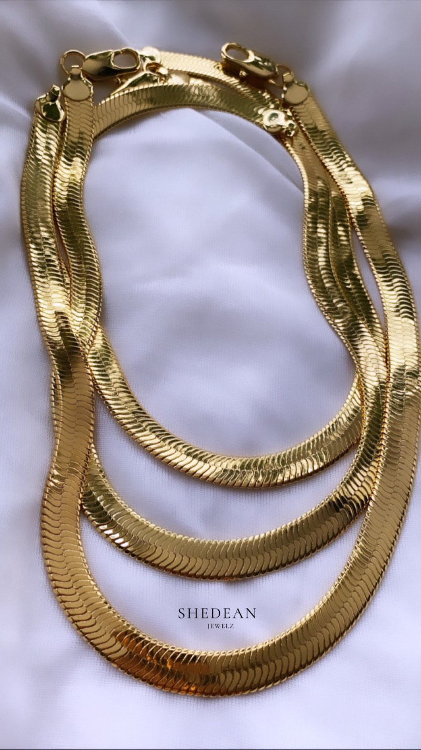 Snake Chain - Shedean Jewelz