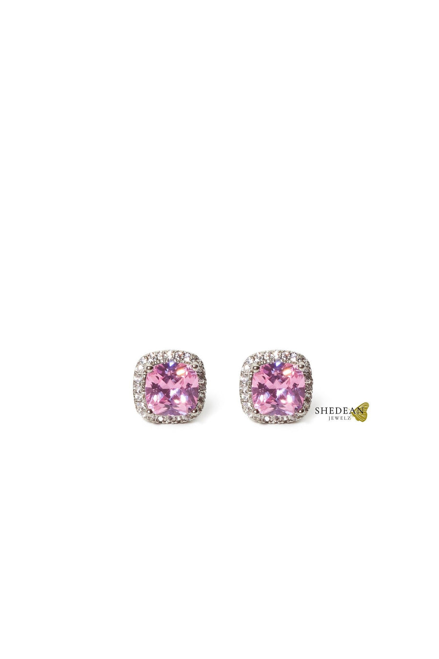 Rose Sterling Studs - Shedean Jewelz