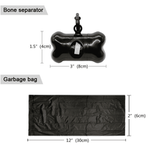 Poop Bag Dispenser + Poop Bags