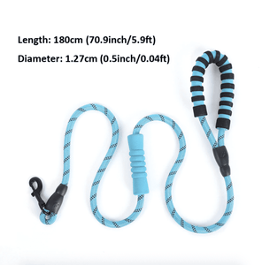 Premium Quality Nylon Dog Leash (5 feet / 150 cm)