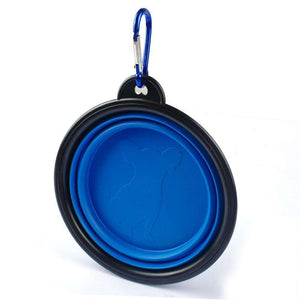 Foldable Silicone Dog Bowl