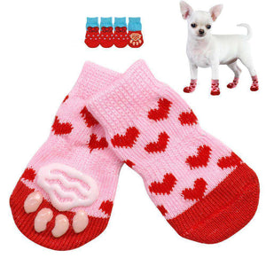 Cute Puppy Anti-Slip Shoes / Socks