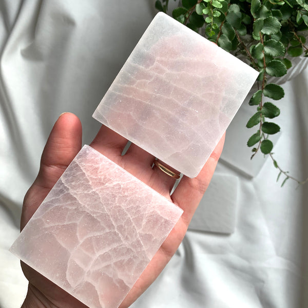 Square Selenite plate