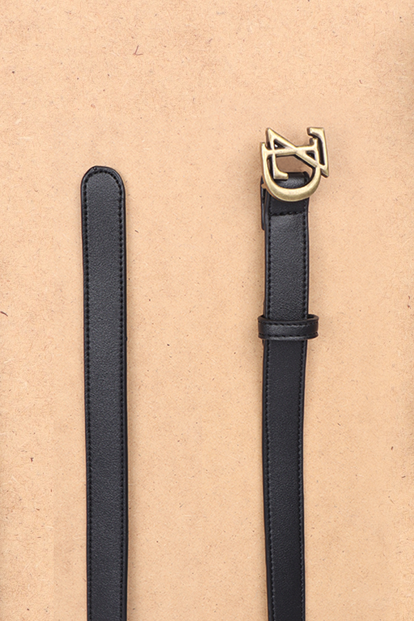 "ZD Leather Belt ""Black"""