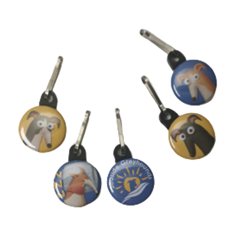 Keyring/Zipper Pull Set