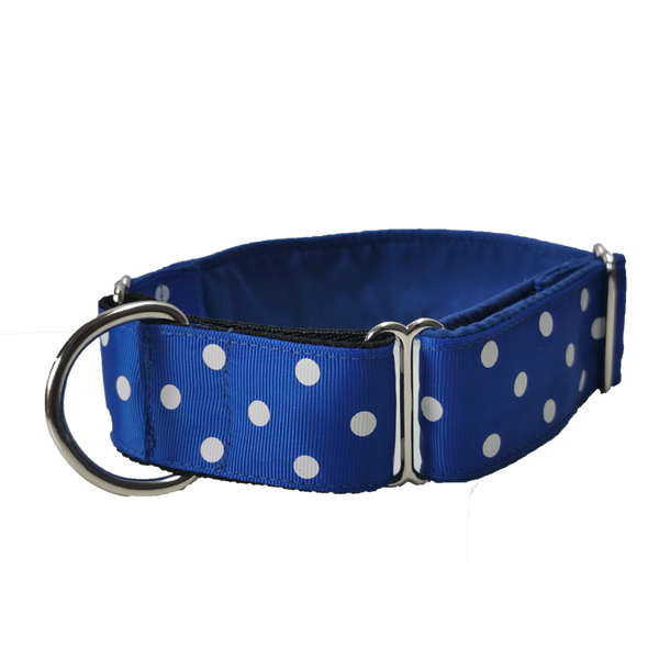 Polkadot Martingale Collar - Seaside Greyhounds Store
