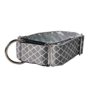 Silver Regal Martingale Collar
