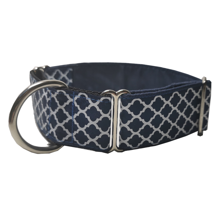 Navy Regal Martingale Collar