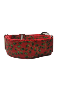 Red Holly Martingale Collar