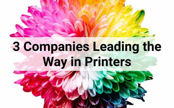 3 Companies Leading the Way in Printers-Blueprint Toners