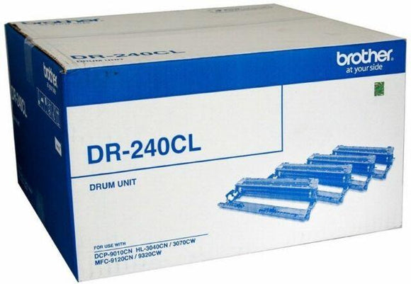 Brother DR-240CL Drum Unit (4 drums 1 for each colour) - 15,000 pgs-Blueprint Toners