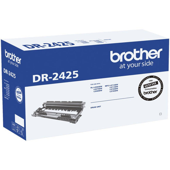 Brother DR2425 Drum Unit - 12,000 PAGES-Blueprint Toners