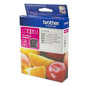Brother LC-131 Magenta Ink Cartridge - up to 300 pages-Blueprint Toners