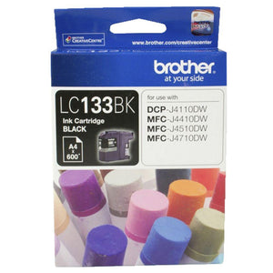 Brother LC-133 Black Ink Cartridge - up to 600 pages-Blueprint Toners