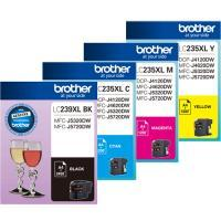 Brother LC-235XL Cyan Ink Cartridge - 1,200 pages-Blueprint Toners