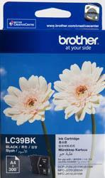 Brother LC-39BK Black Ink Cartridge - 300 pages-Blueprint Toners