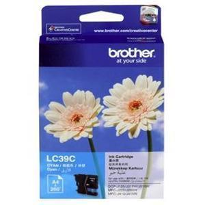Brother LC-39C Cyan Ink Cartridge - 260 pages-Blueprint Toners