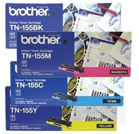 Brother TN-155C Cyan Toner Cartridge - 4,000 pages-Blueprint Toners