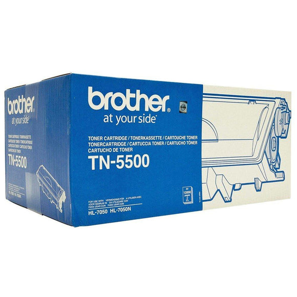 Brother TN-5500 Toner Cartridge - 12,000 pages-Blueprint Toners