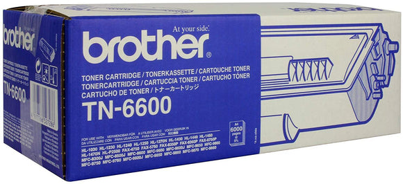 Brother TN-6600 Toner Cartridge - 6,000 pages-Blueprint Toners