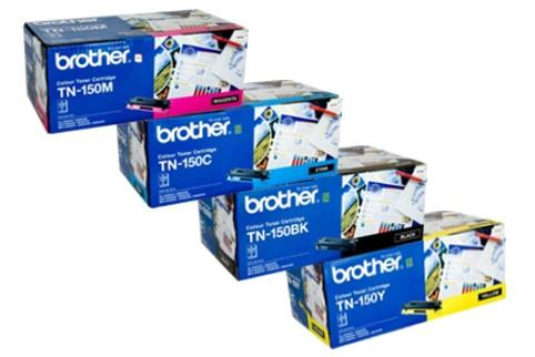 Brother TN150 YellowToner Cartridge - 1,500 pages-Blueprint Toners