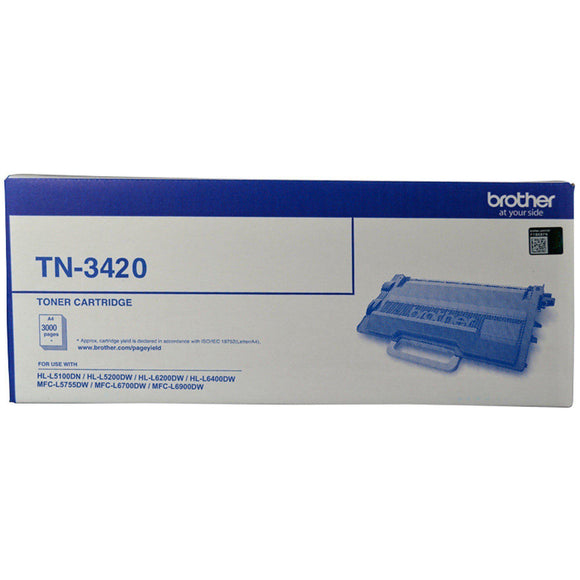 Brother TN3420 Toner Cartridge - 3,000 pages-Blueprint Toners