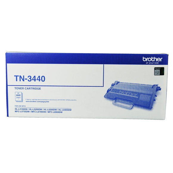 Brother TN3440 Toner Cartridge - 8,000 pages-Blueprint Toners