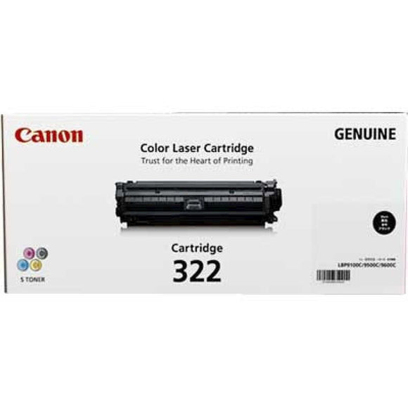 Canon CART322 Black High Yield Toner - 13,000 Pages-Blueprint Toners