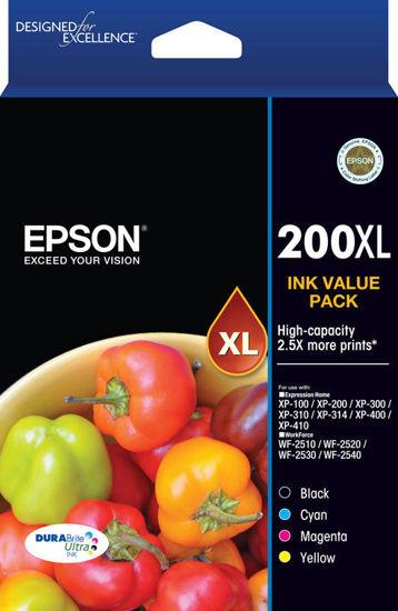 Epson 200 4 HY Ink Value Pack-Blueprint Toners
