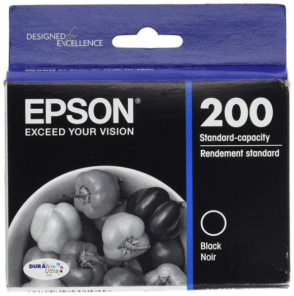 Epson 200 Black Ink Cartridge - 175 pages-Blueprint Toners
