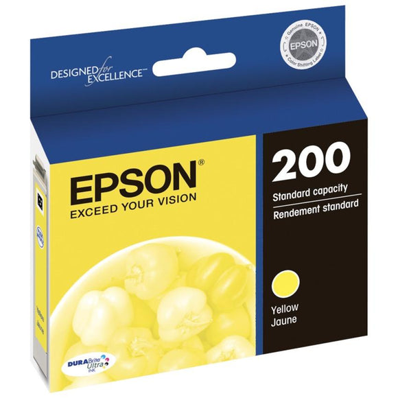 Epson 200 Yellow Ink Cartridge - 165 pages-Blueprint Toners