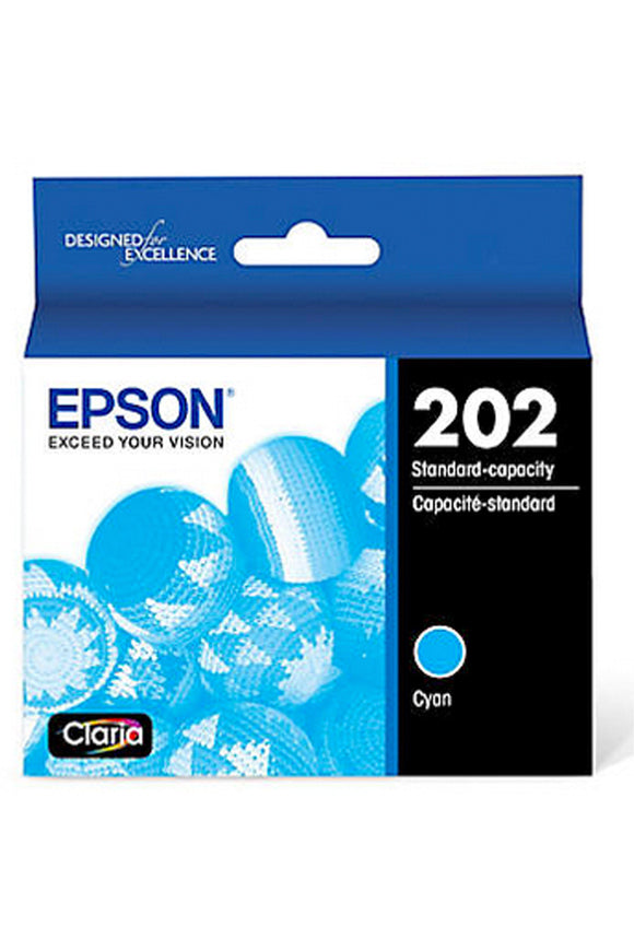 Epson 202 Cyan Ink Cartridge-Blueprint Toners
