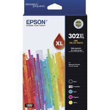 Epson 302 5 HY Ink Value Pack-Blueprint Toners