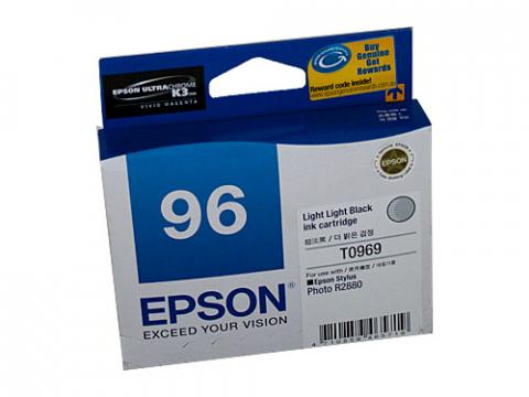 Epson T0969 Light Black Ink Cartridge - 6,065 pages-Blueprint Toners