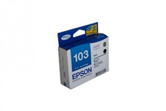 Epson T1031 (103N) H/Y Black Ink Cartridge - 995 pages-Blueprint Toners