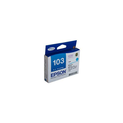 Epson T1032 (103N) H/Y Cyan Ink Cartridge - 815 pages-Blueprint Toners