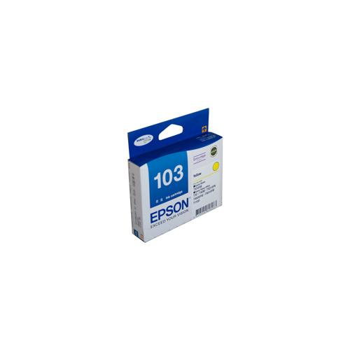 Epson T1034 (103N) H/Y Yellow Ink Cartridge - 815 pages-Blueprint Toners