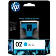 HP #02 Cyan Ink Cartridge - 4ml - 350 pages-Blueprint Toners